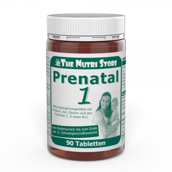 Prenatal 1 Kinderwunsch + Schwangerschaft Tabletten 90 Stk.