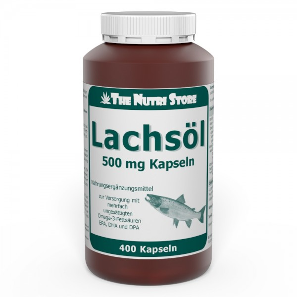 Lachsöl 500 mg Kapseln 400 Stk.