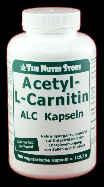 Acetyl L-Carnitin 500 mg Kapseln 200 Stk.