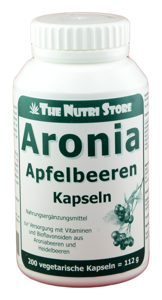 Aronia Apfelbeeren Kapseln 200 Stk.