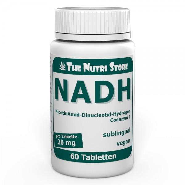 NADH 20 mg vegane Lutschtabletten 60 Stk. sublingual
