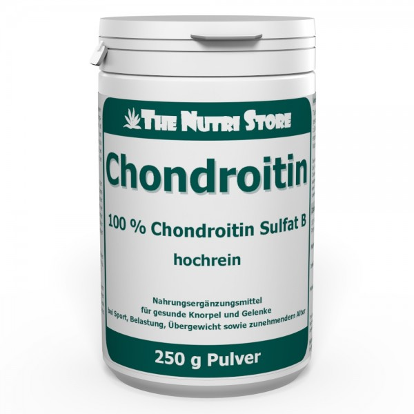 Chondroitin Sulfat 100% hochrein Pulver 250 g
