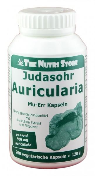 Auricularia Judasohr 500mg Kapseln 200Stk.
