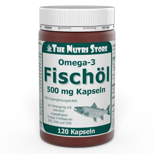 Omega-3 Fischöl 500 mg Kapseln 120 Stk.