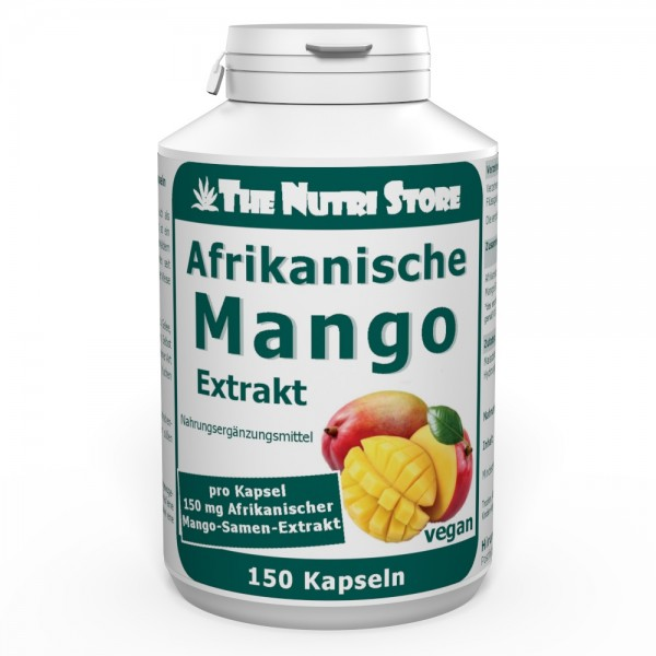 Afrikanische Mango Extrakt 150 mg vegane Kapseln 150 Stk.