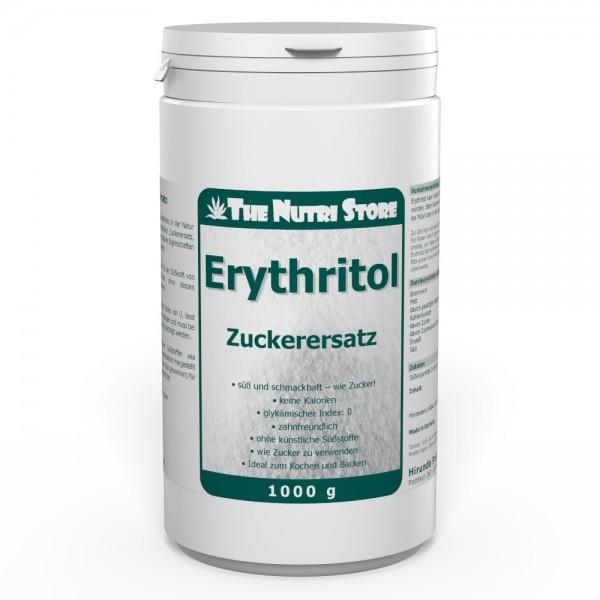 Erythritol Zuckerersatz Pulver 1000 g