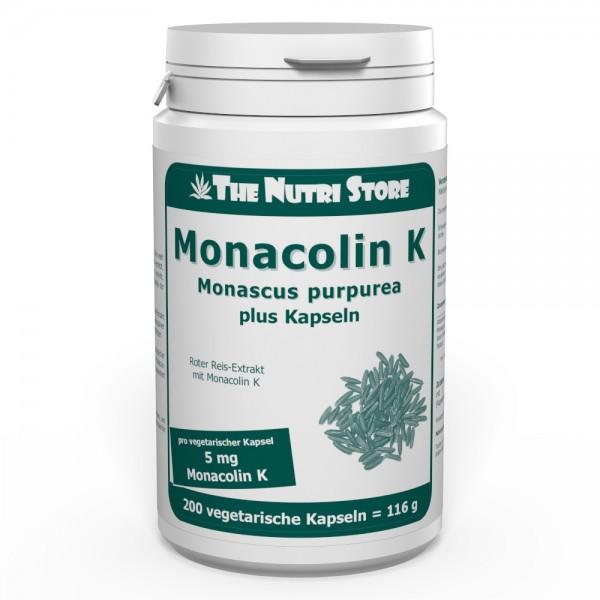 Monacolin K 5 mg plus Kapseln 200 Stk.