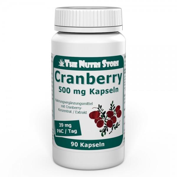 Cranberry 500 mg Kapseln 90 Stk.