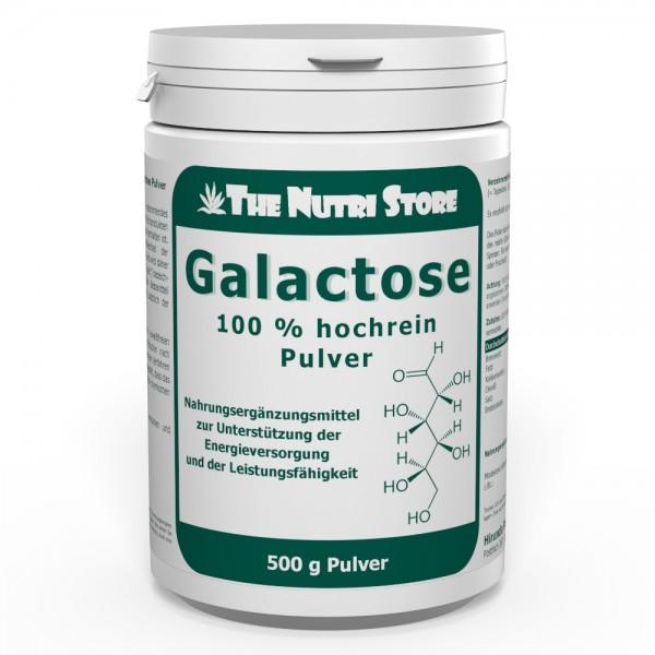 Galactose 100 % hochrein Pulver 500 g