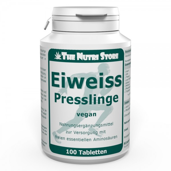 Eiweiss Presslinge 100 Stk. vegan