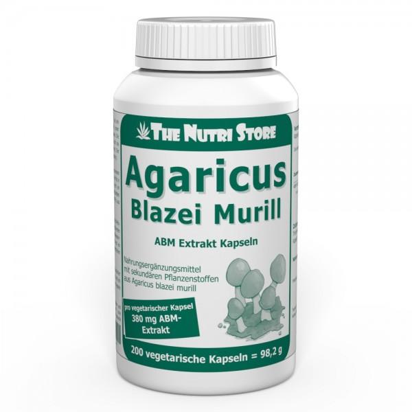 Agaricus Blazei Murill Extrakt Kapseln 200 Stk.