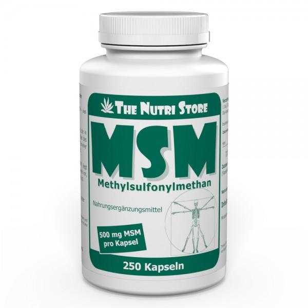 MSM 500 mg Kapseln 250 Stk.