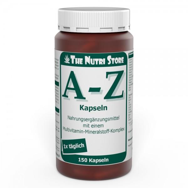 A-Z Multivitamin Mineralstoff Kapseln 150 Stk.