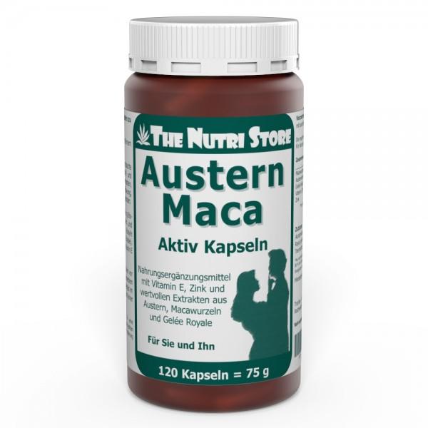 Austern Maca Kapseln 120 Stk. für Sie und Ihn