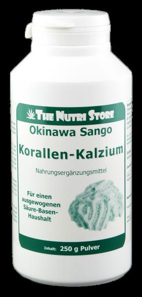 Korallen-Kalzium 100 % rein Pulver 250 g