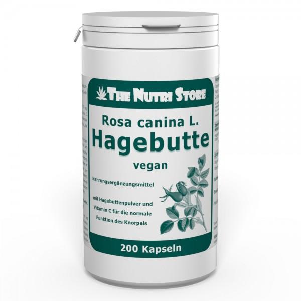 Hagebutte 750 mg Rosa canina L. vegane Kapseln 200 Stk.