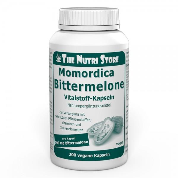 Bittermelone 500 mg vegane Kapseln 200 Stk.