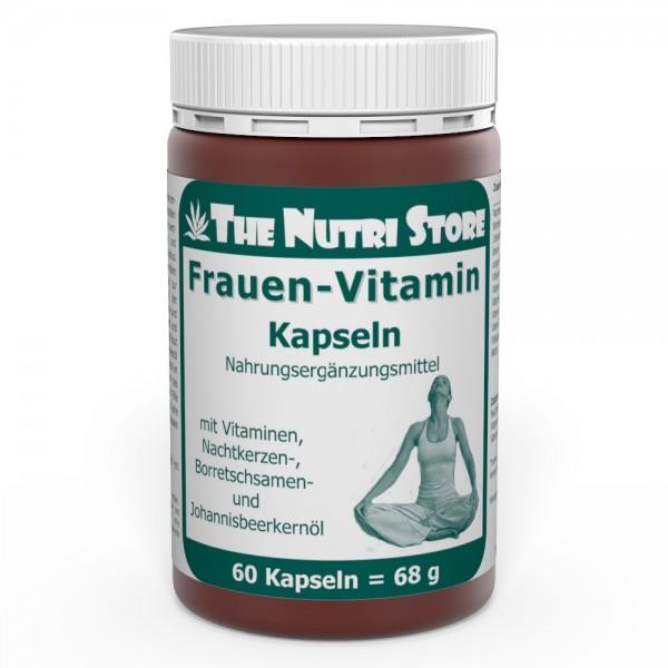 Frauen Vitamin Kapseln 60 Stk.