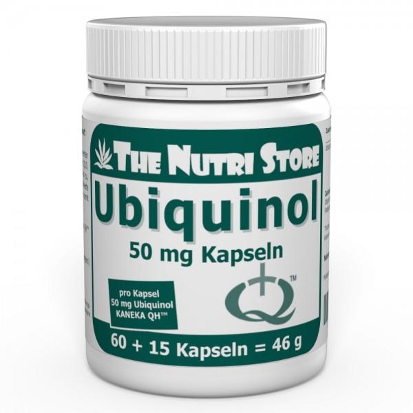 Ubiquinol 50 mg Kapseln 60 + 15 Stk.