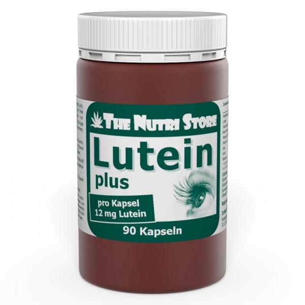 Lutein 12 mg + Zeaxanthin Heidelbeer Kapseln 90 Stk.
