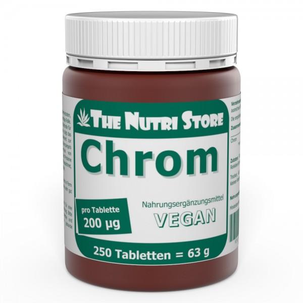 Chrom 200 ug Vegan Tabletten 250 Stk.