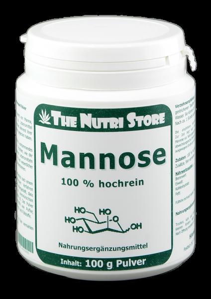 Mannose 100 % rein Pulver 100 g