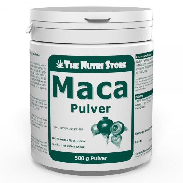 Maca 100 % Pur Pulver 500 g