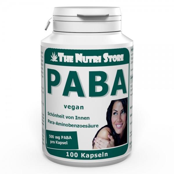PABA 500 mg vegan Kapseln 100 Stk.