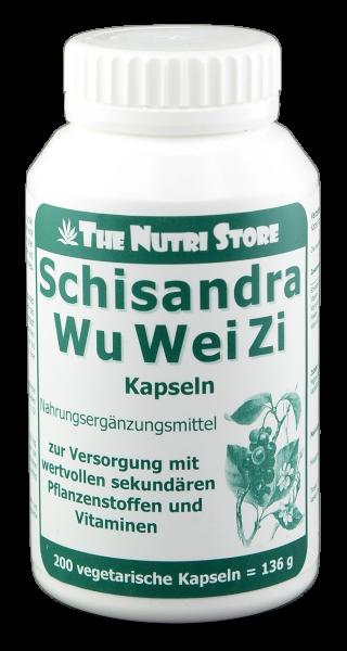 Schisandra WuWeiZi Kapseln 200 Stk.
