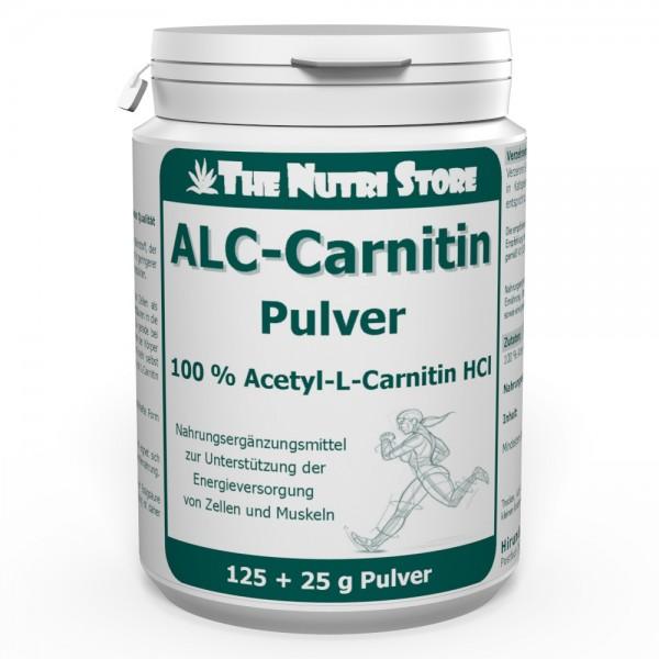 Acetyl-L-Carnitin Pulver 125 g + 25 g