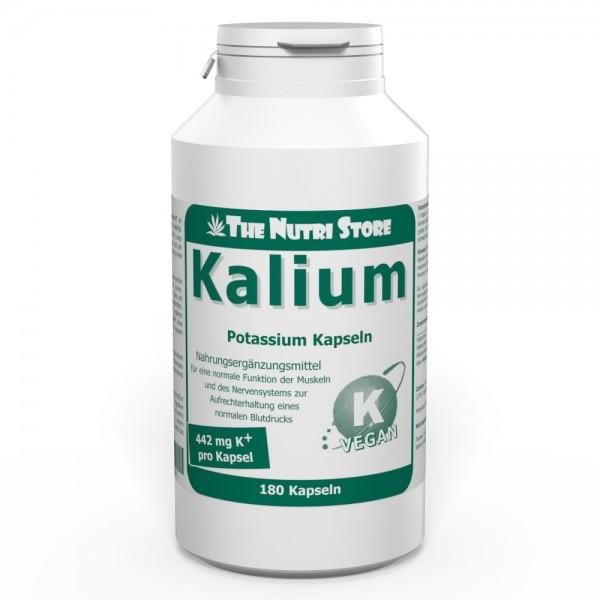 Kalium 442 mg vegane Kapseln 180 Stk.