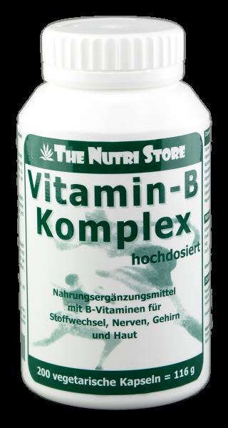Vitamin B Komplex hochdosiert Kapseln 200 Stk.