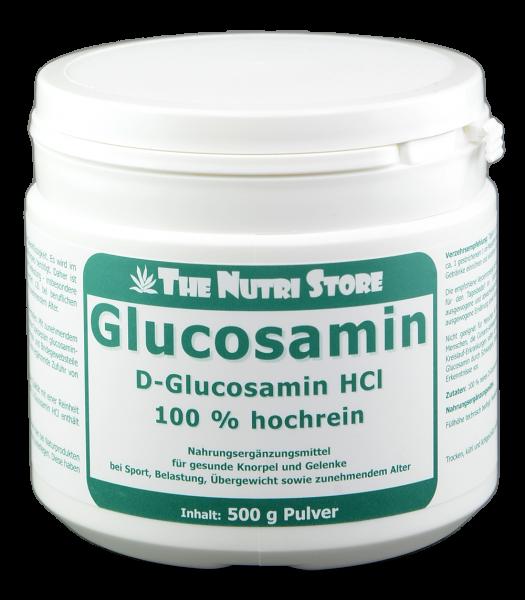 Glucosamin hochrein Pulver 500 g