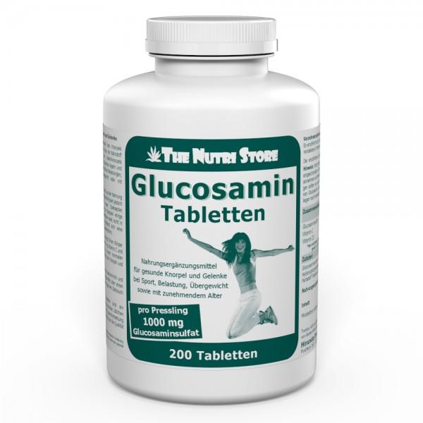 Glucosamin 1000 mg Tabletten 200 Stk.