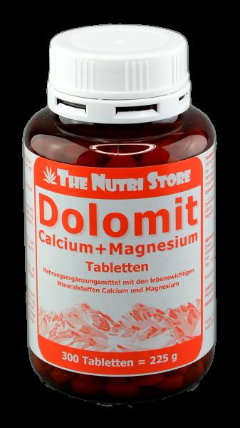 Dolomit Calcium + Magnesium Tabletten 300 Stk.