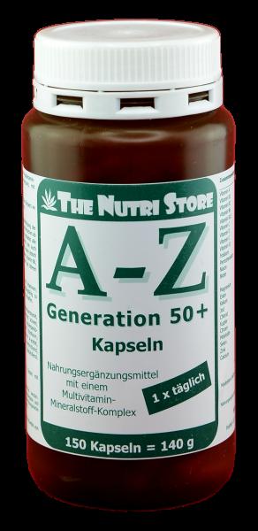 A-Z Kapseln 50+ 150 Stk.