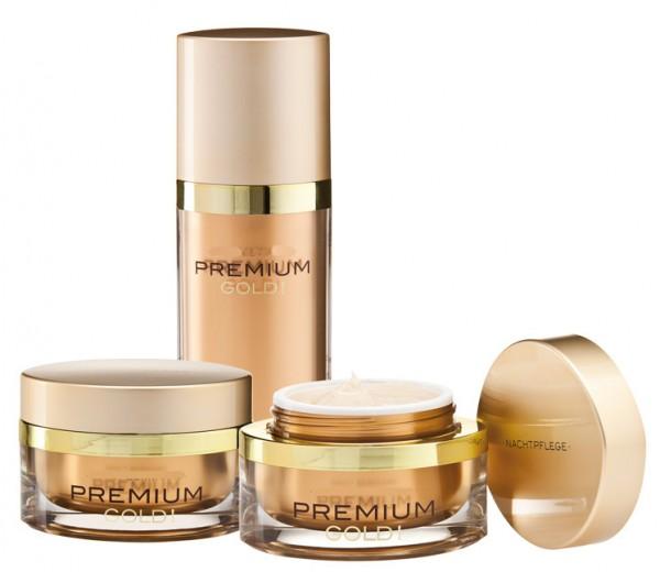 Premium Gold Pflegeset 3-teilig
