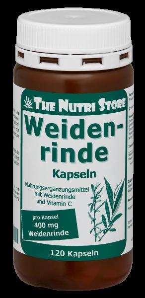 Weidenrinde Kapseln 400 mg 120 Kps.