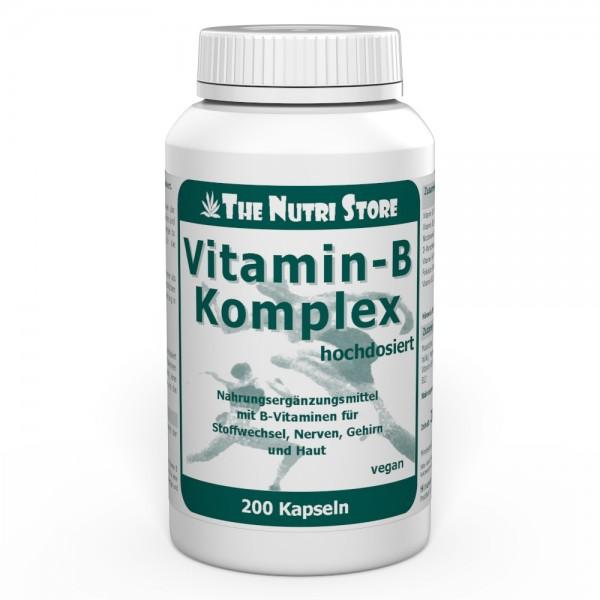 Vitamin B Komplex hochdosiert vegane Kapseln 200 Stk.
