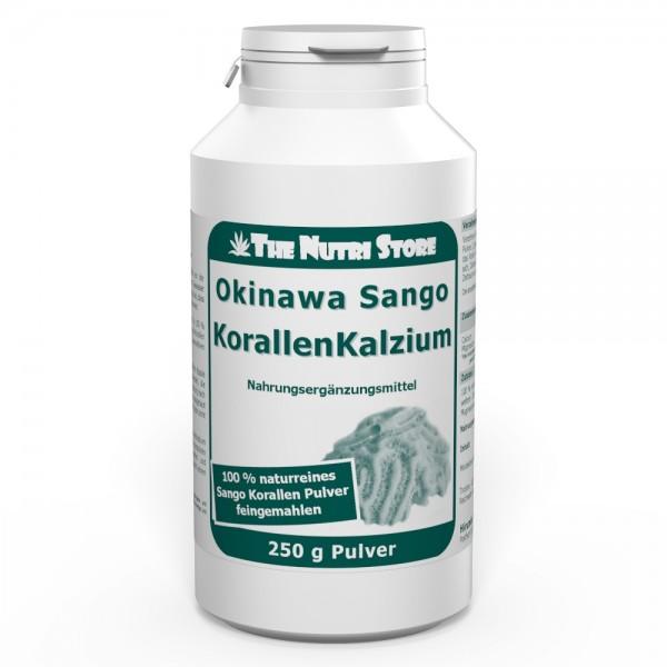 Korallen Kalzium 100 % rein Pulver 250 g