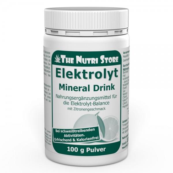 Elektrolyt Mineral Drink Pulver mit Zitronengeschmack
