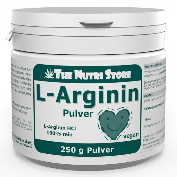 L-Arginin HCl veganes Pulver 250 g