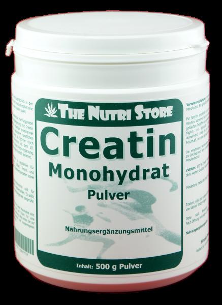 Creatin Monohydrat Pulver 500 g