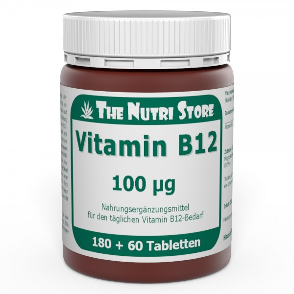 Vitamin B12 100 µg Tabletten 180 + 60 Stk.