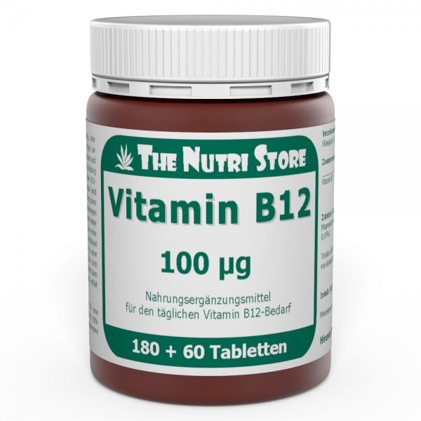 Vitamin B12 100 µg Tabletten 180 + 60 Stk.