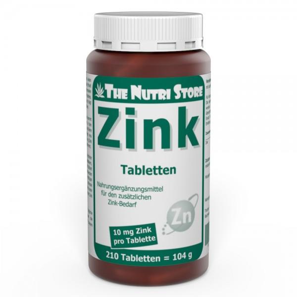 Zink 10 mg Tabletten 210 Stk.