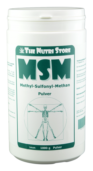 MSM Methylsulfonylmethan Pulver 1000 g