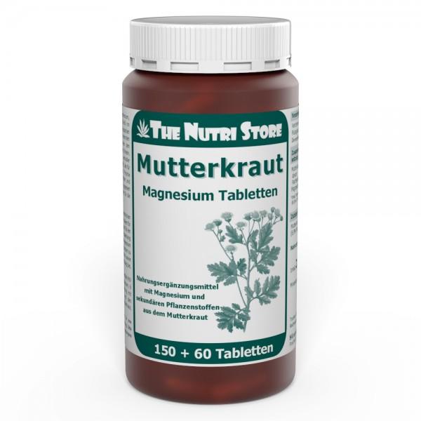 Mutterkraut Magnesium Tabletten 150 +60 Stk.