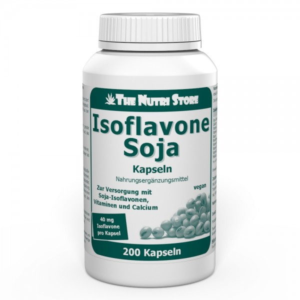 Isoflavone Soja 40 mg vegane Kapseln 200 Stk.