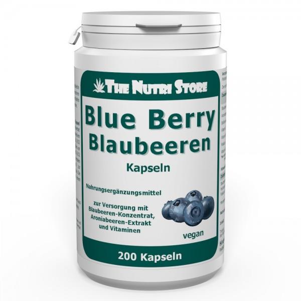 Blue Berry Blaubeeren Kapseln 200 Stk.